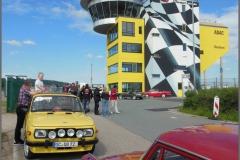 Start und Ziel am Sachsenring