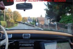 Rückfahrt nach Oberlungwitz
